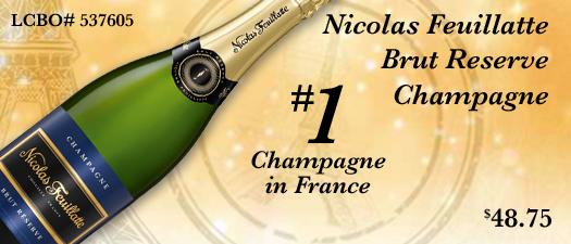 Nicolas Feuillatte Brut Reserve Champagne