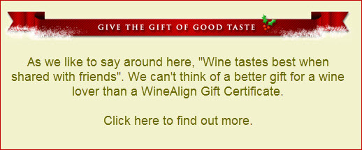 WineAlign Gift Certificates