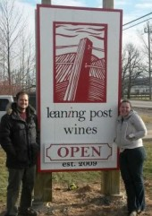 Leaning Post Wines - Open for Business
