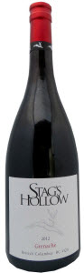 Stag's Hollow Grenache 2012