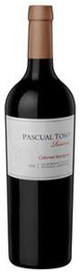 Pascual Toso Reserve Las Barrancas Vineyards Cabernet Sauvignon 2011