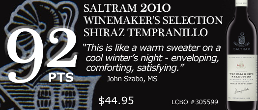 Saltram Winemaker's Selection Shiraz Tempranillo 2010