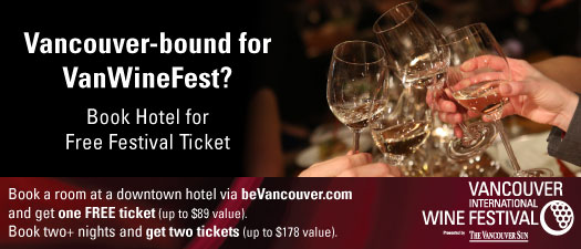 Vancouver International Wine Festival - Feb 27, 28 and Mar 1