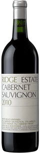 Ridge Estate Cabernet Sauvignon 2010