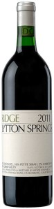Ridge Lytton Springs 2011