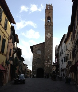 The Clock Tower, Montalcino
