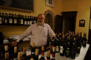 Tulio's Osteria Osticcio, for more Brunello outside of the official tasting