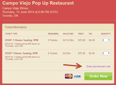 Enter promotional code WineAlign to get $25 discount.