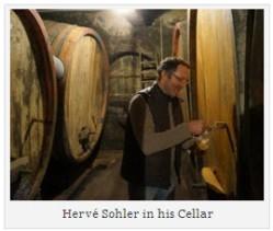 Hervé Sohler in his Cellar 1