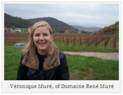 Véronique Muré, of Domaine René Muré 1