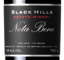 Black Hills Nota Bene label
