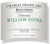 Domaine William Fèvre Chablis Bougros Côte Bouguerots Grand Cru 2011 label