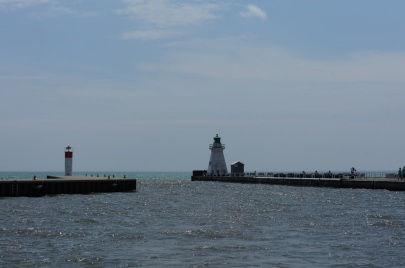 The picturesque Light House, Port Dover