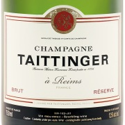 Taittinger Brut Reserve Label