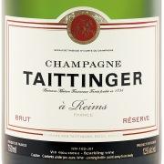 Taittinger Brut Reserve Label