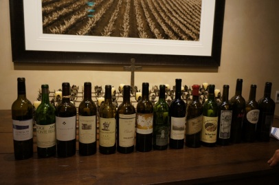 A pretty nice line up of Napa Cabernet..