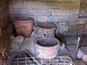 Ancient Cretan winery at Vathypetro c. 1000BC