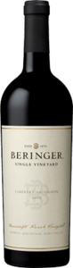 Beringer Bancroft Ranch Single Vineyard Cabernet Sauvignon 2007