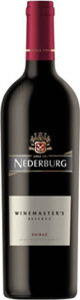 Nederburg Winemaster's Reserve Shiraz 2012