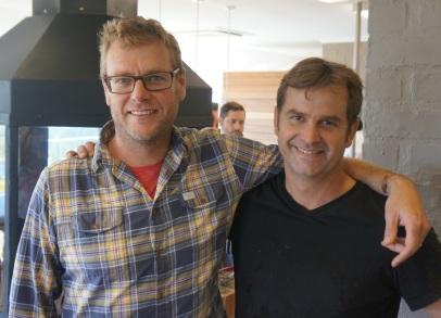 Bevan (left) and Gordon Newton Johnson