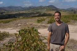 Lammershoek winemaker Craig hawkins, old vines and Swartland landscape