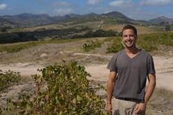 Lammershoek winemaker Craig hawkins, old vines and Swartland landscape