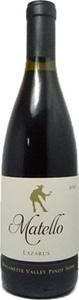 Matello Wines Cuvee Lazarus Pinot Noir 2011