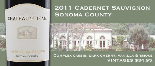 Chateau St Jean Cabernet Sauvignon Sonoma County