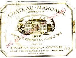 Château Margaux 1978