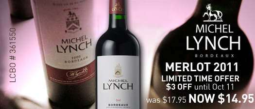 Michel Lynch Merlot 2011