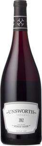 Unsworth Vineyards Pinot Noir 2012