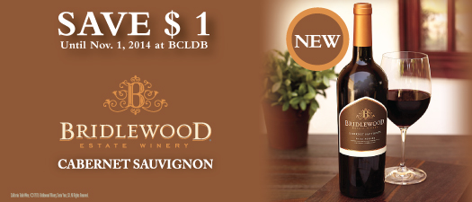 Bridlewood Estate Winery Cabernet Sauvignon 2012