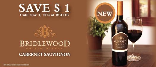Bridlewood Estate Winery Cabernet Sauvignon 2012