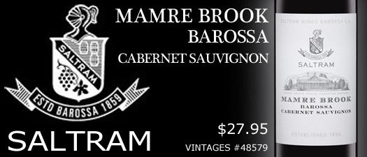 Saltram Mamre Brook Cabernet Sauvignon 2012