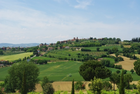 The Chianti classico region