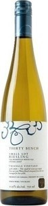 Thirty Bench Small Lot Triangle Vineyard Riesling 2012