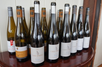 Vertical Tastings of some of the best Niagara Rieslings