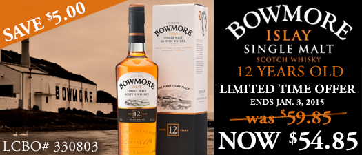 Bowmore 12 Years Old Islay Single Malt