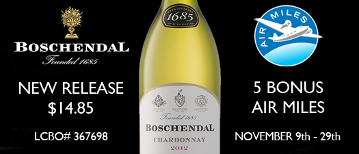 Boschendal 1685 Chardonnay 2013