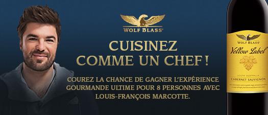 Wolf Blass - Cuisinez comme un chef