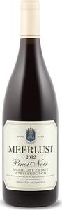 Meerlust Pinot Noir 2012
