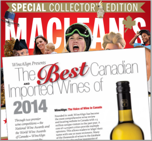Maclean's Special Edition - Wine report