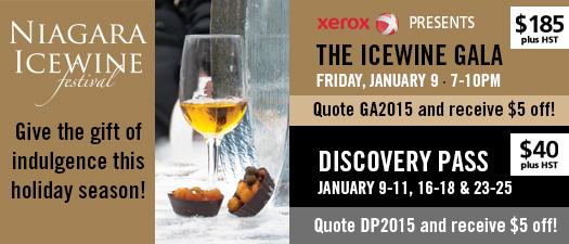 Niagara Icewine Festival2015