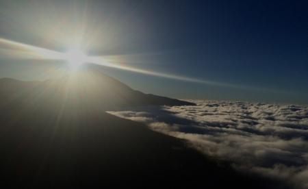L'île de Tenerife - un peu dans les nuages