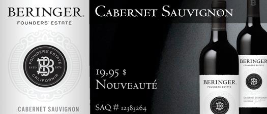Beringer Founders' Estate Cabernet Sauvignon 2012
