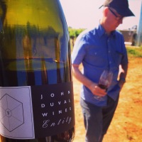In the vineyard with John Duval