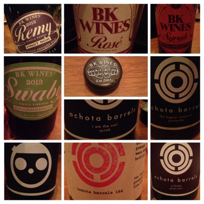 Very cool stuff from Adelaide Hills - BK Wines & Ochota Barrels