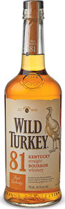 Wild Turkey 81 Proof Kentucky Straight Bourbon
