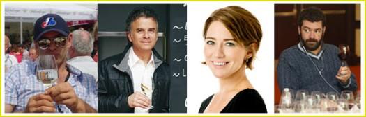 Chacun son Vin Critic Team : Bill, Marc, Nadia & Remy