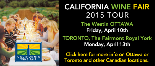 California Wine Fair - 2015 Canadian Tour